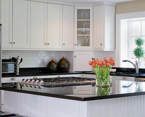 Graniit Nero assoluto кухня
