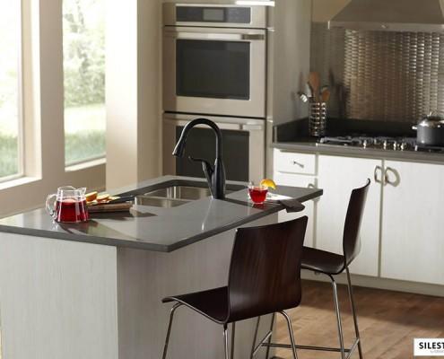 Silestone Altair кухня