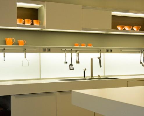 Silestone Blanco Zeus кухня 2