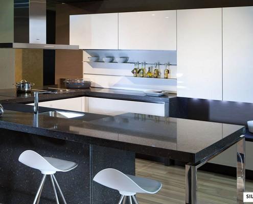 Silestone Eco Granada кухня
